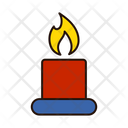 Candle Candle Decore Decoration Icon