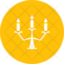 Candle Candelabra Stand Icon