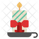 Candle Candle Light Christmas Decoration Icon