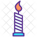 Candle Wax Halloween Icon