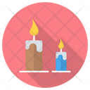 Candle Fire Candles Icon
