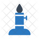 Candle Burner Lab Icon