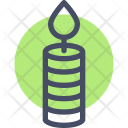Candle Flame Wax Icon