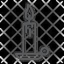 Candle Religion Pray Icon