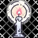 Icandle Candle Candle Stand Icon