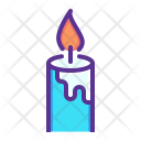 Candle Light Bright Icon