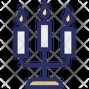 Candle Illumination Lamp Icon