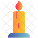 Candle Light Winter Icon