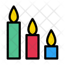 Candle Romance Light Icon