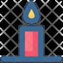Christmas Candle Light Icon