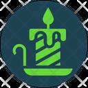 Halloween Candle Light Icon