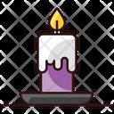 Burning Candle Candle Candle Light Icon