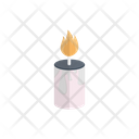 Candle Fire Flame Icon