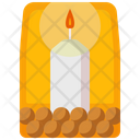 Aromatherapy Candle Relax Icon