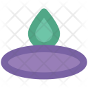 Candle Flame Burning Icon