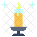 Candle Light Wax Icon