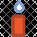Candle Burning Flame Icon