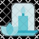 Alternative Medicine Candle Light Icon