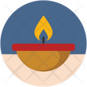 Candle Fire Islam Icon