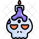 Candle Halloween Scary Icon