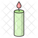 Candle Lamp Fire Icon