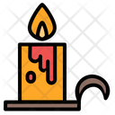 Candle Candelabra Spooky Icon