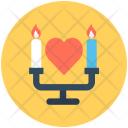 Candle Candlelight Dinner Icon