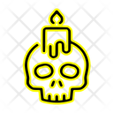 Candle Spooky Ghost Icon