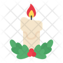 Candle Christmas Candle Ornament Icon
