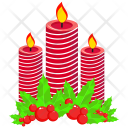 Candle Decoration Dinner Icon