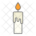 Candle Flame Fire Icon