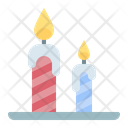 Candle Birthday Party Icon