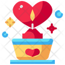 Candle Light Romance Icon