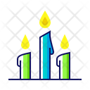 Candle Candlestick Silent Icon