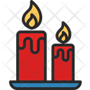 Candle Light Lamp Icon