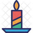 Candle Decorative Fancy Icon