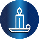 Candle Holder Light Icon