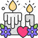 Candle Light Celebration Icon