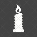 Candle Halloween Light Icon