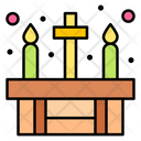Candle Church Muertos Icon