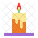 Candle Halloween Rite Icon