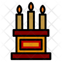 Candle Cultures Decoration Icon