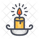 Candle Light Horror Icon