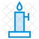 Candle Stand Fire Icon
