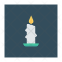 Candle Light Flame Icon