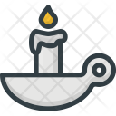 Candle Aromatherapy Relaxation Icon