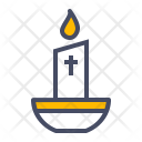 Candle Light Easter Icon