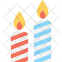 Candle Halloween Light Icon