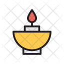 Candle Spa Memorial Icon