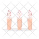 Candle Light Gift Icon